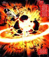 Titan explodes
