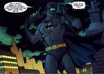 The fake Batman is Black Mask