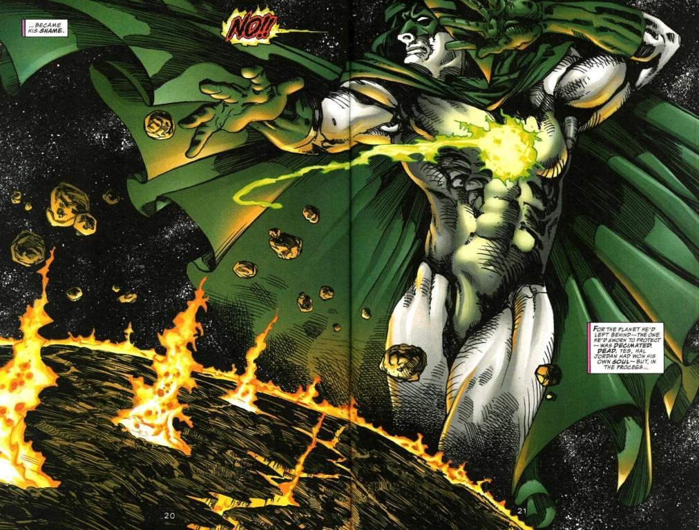 Image result for dc spectre hal jordan
