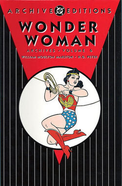 Cover for the Wonder Woman Archives Vol. 6 Trade Paperback