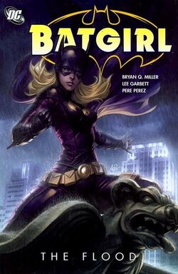 Cover for the Batgirl: The Flood Trade Paperback