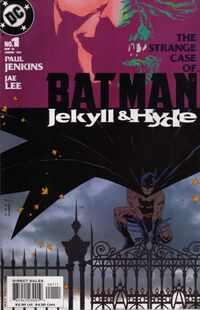 Batman Jekyll and Hyde Vol 1 1