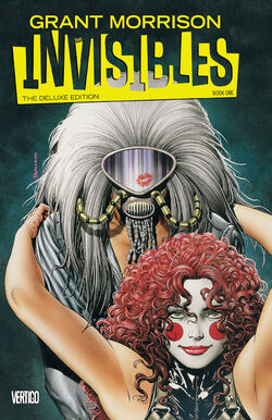 Cover for the Invisibles Deluxe Edition: Book One Trade Paperback