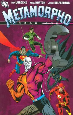 Cover for the Metamorpho: Year One Trade Paperback