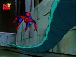 Spider-Man Dodges Lizard Tail