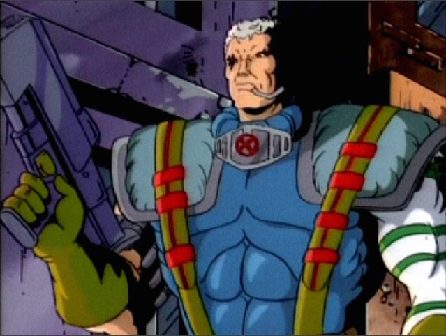 cable marvel animated universe wiki fandom powered by