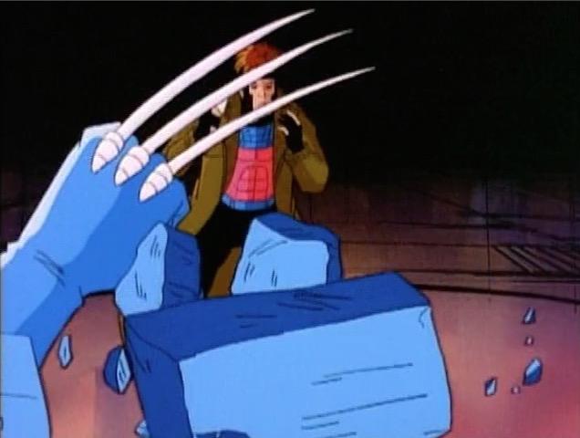 File:Wolverine Breaks Through Danger Room Wall.jpg
