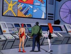 Scarlet Witch Rhodey Spider-Woman Watch Monitors