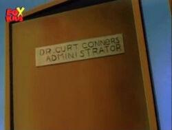 Connors Office Door