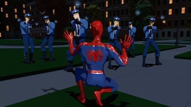 File:Police Arrest Spider-Man SMTNAS.jpg