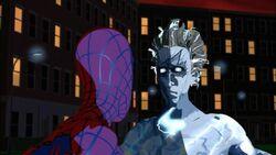 Spider-Man Confronts Electro SMTNAS