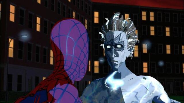 File:Spider-Man Confronts Electro SMTNAS.jpg