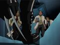X-23 Threatens HYDRA Training Scientists XME.jpg