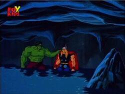 Hulk Asks Thor For Ride