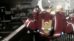 Iron Man Races War Machine IMRT