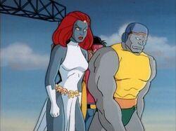 Mystique Unnamed Mutant Leave Genosha Dam