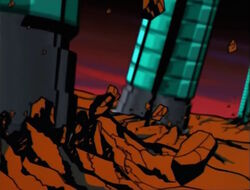Galactus Tentacles Slam Into Unknown Planet