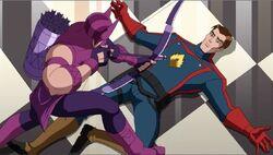 Hawkeye Captures Star-Lord AEMH