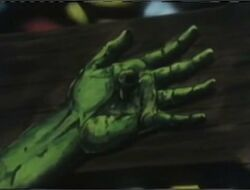 Jesus Crucified Hand MOF