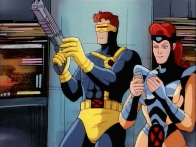 File:Cyclops Examines Gun.jpg