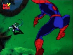 Spider-Man Swings Around To Lizard