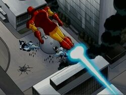 Iron Man Leaves UN AEMH