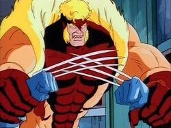 Sabretooth Gives Wolverine Taste of Adamantium