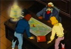 Hunters Examine Map DSD