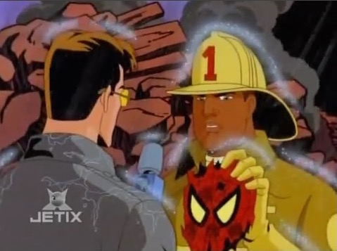 File:Firefighter Holds Spider-Man Mask.jpg