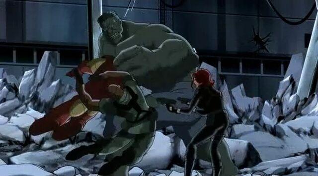 File:Hulk Knocks Fury Widow Iron Man UA.jpg