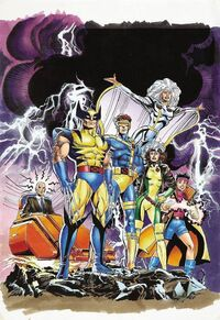 X-Men Early Promo Art