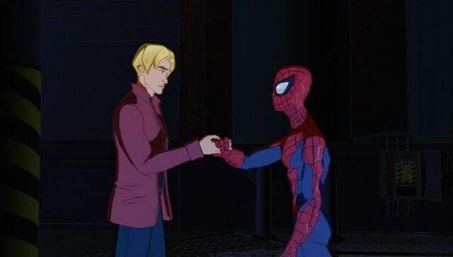 File:Harry Helps Spider-Man SMTNAS.jpg