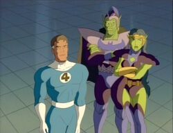 Mister Fantastic Addresses Skrull Emperor