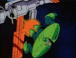 Titanium Man Leaves Satellite