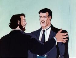 Pavarotti Greets Tony