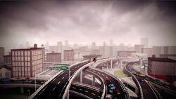 Freeway Interchange CMCG