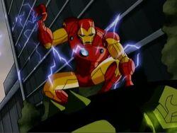 Iron Man Dreadnaught Spine Rip AEMH