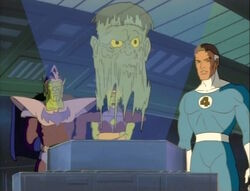 Mister Fantastic Finishes Showing Skrulls Movies