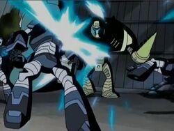 Iron Man Attacks Mandroids AEMH