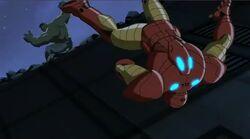 Hulk Throws Iron Man UA