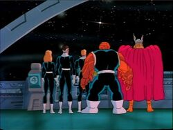 FF Thor Watch Galactus Leave