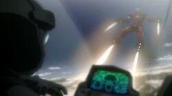 Iron Man Lands On Interceptor IMRT