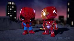 Iron Man Chastised Spider-Man SBD