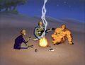 Fantastic Four Beach Fire.jpg