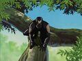 X-23 Crawls Along Tree Branch XME.jpg