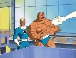 Mister Fantastic Takes Skrull Game