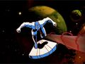 Silver Surfer Chases Morovus Cannon Blast.jpg