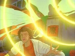 Woman Flees Magneto Damaged Toxic Vat