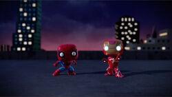 Iron Man Spider-Man SBD
