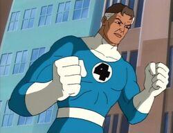 Mister Fantastic Blue Uniform